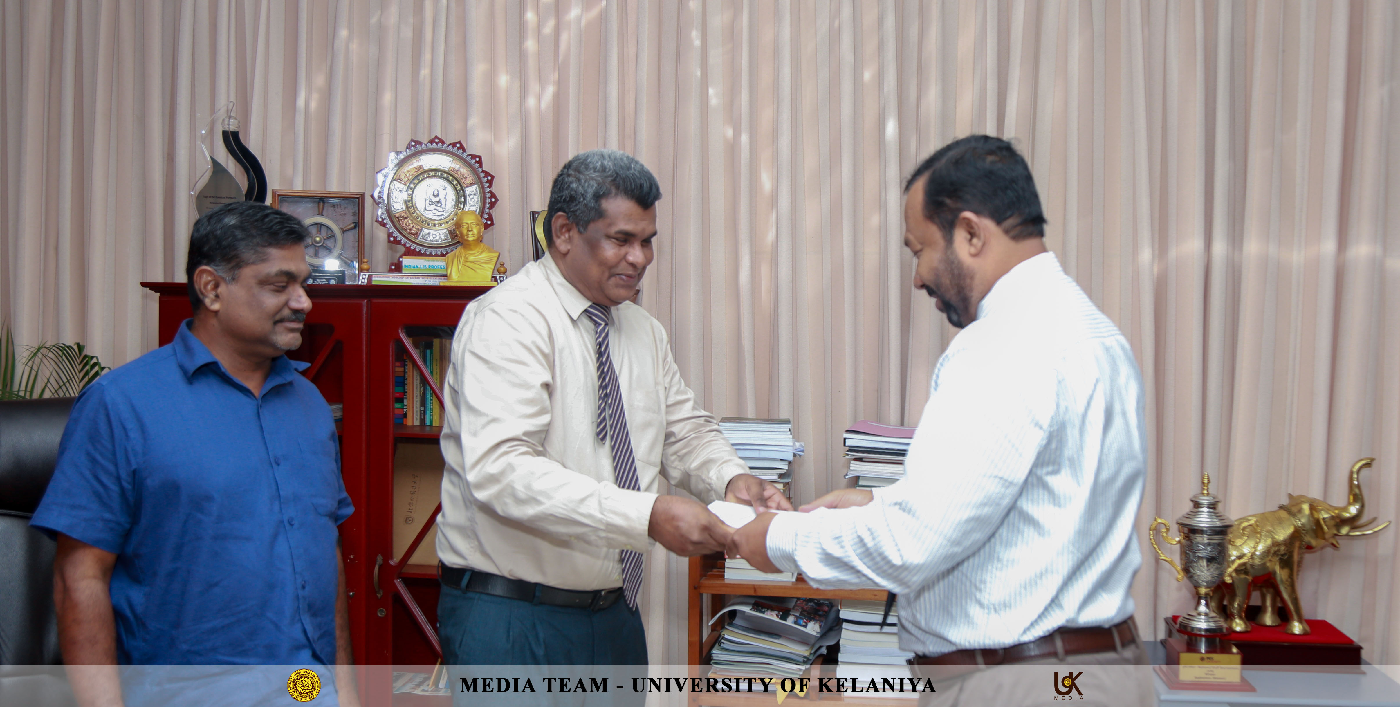UOK - Prof  Jayamaha Reappointed as the Dean of the FGS