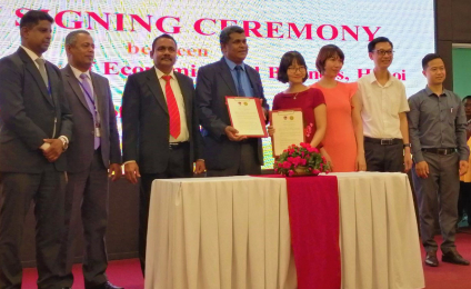 MoU Between Vietnam National University and University of Kelaniya