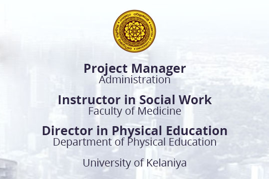 UOK - Project Manager/ Director in Physical Education