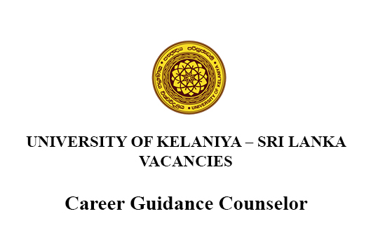 Career Guidance Counselor - Vacancies University of Kelaniya