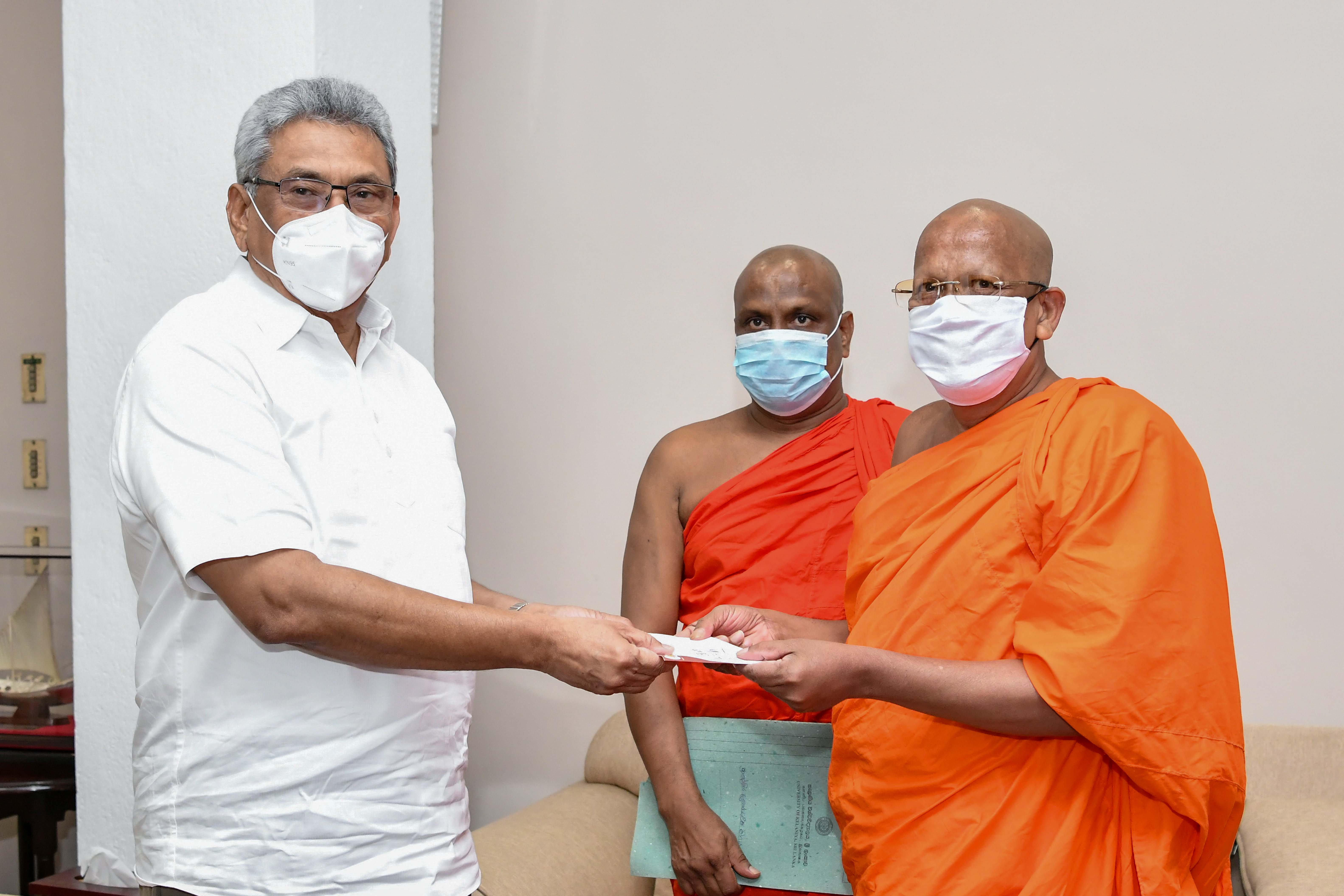 A Donation by KUTA for Covid 19 Health and Social Security Fund