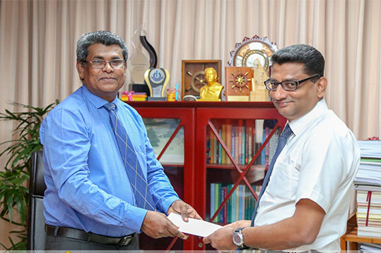 Senior Lecturer Dr. D.S.G. Mettananda appointed as the New Head of the Department of Paediatrics