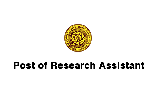 Post of Research Assistant
