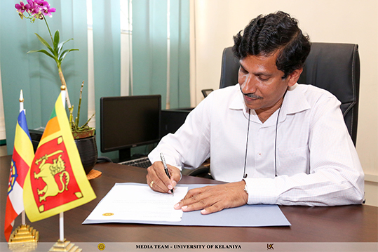 Senior Prof. S.R.D. Kalingamudali appointed as the Dean of the Faculty of Science