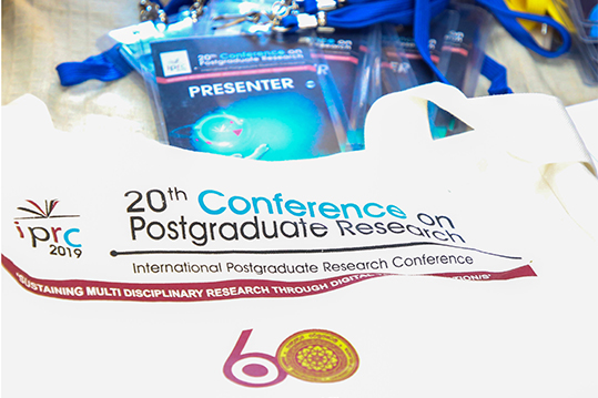 International Postgraduate Research Conference 2019