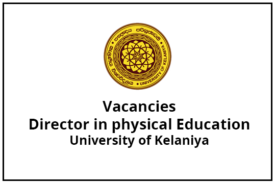 Director in Physical Education-Vacancies