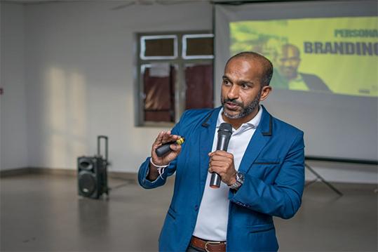 """Entrepreneurship Caravan"" Venture Frontier Lanka"