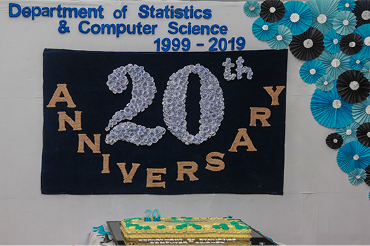 20th Anniversary Celebration of the Department of Statistics & Computer Science