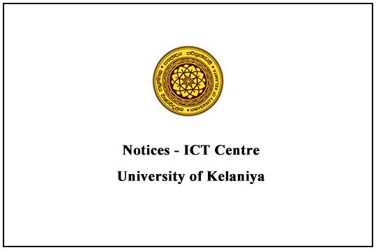 Notices- ICT Centre