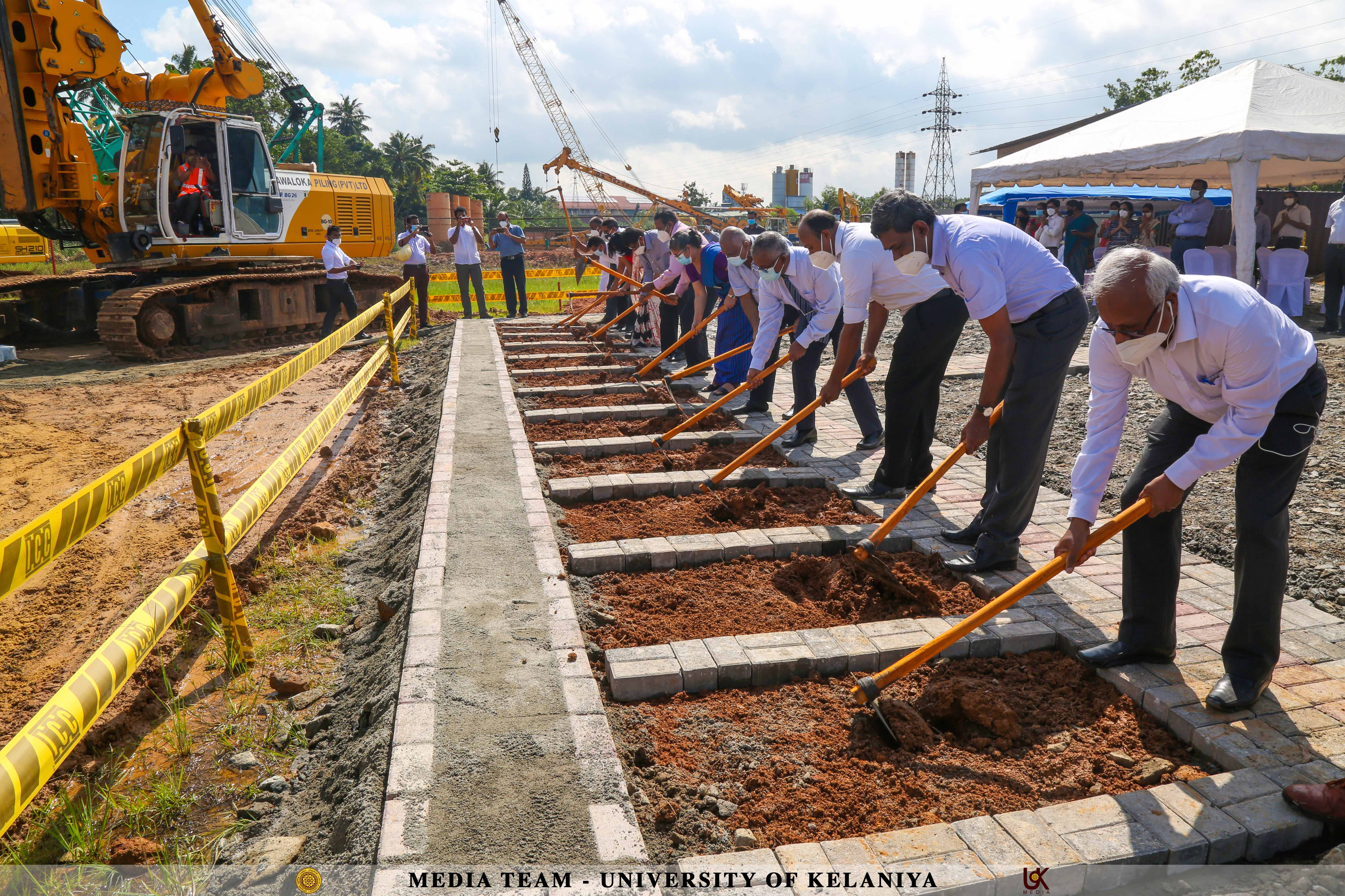 Groundbreaking Ceremony Marks a new Building Complex for the Faculty of Computing and Technology