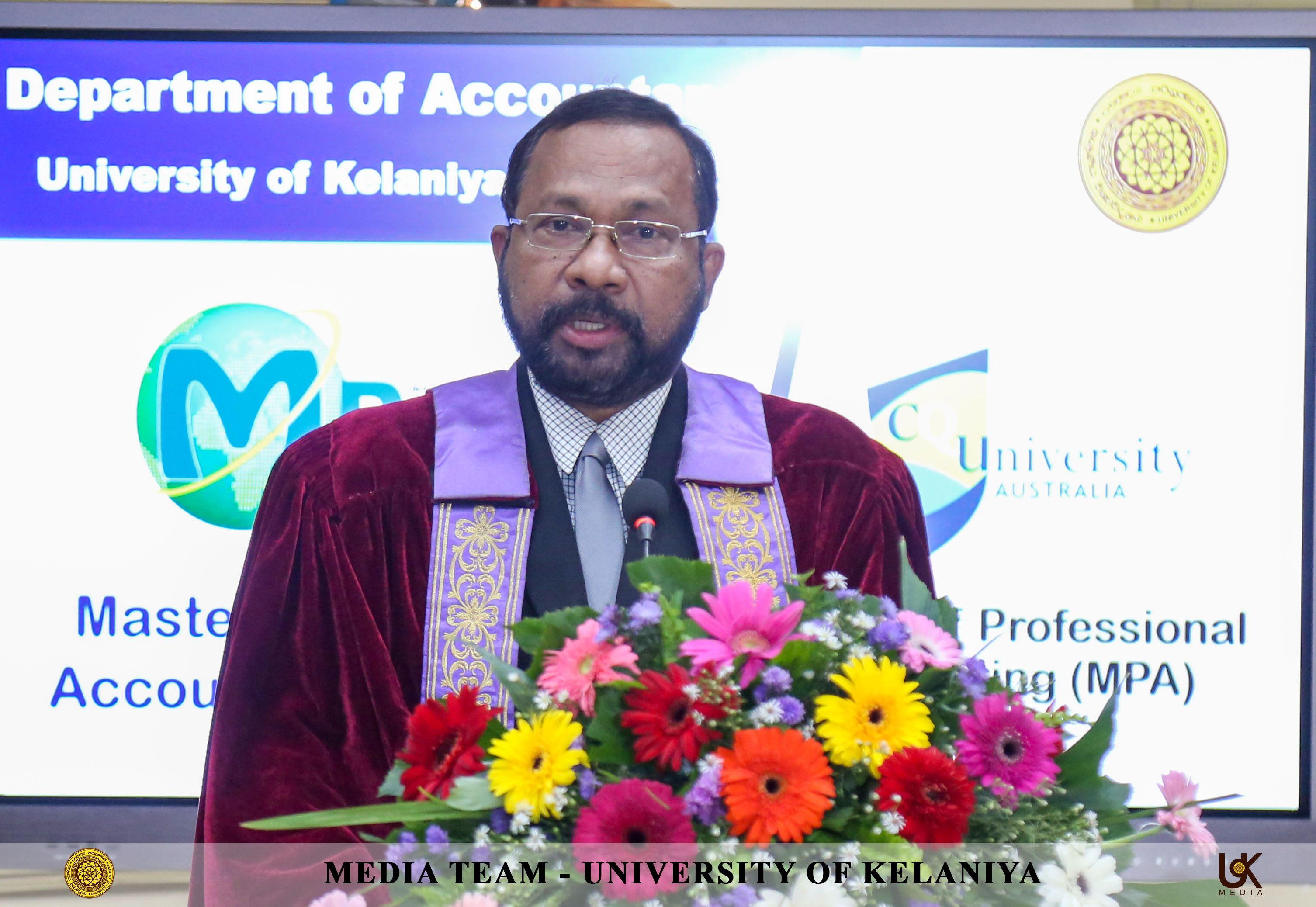 Inauguration Ceremony of Master of Business & Master ofProfessional Accounting Programmes