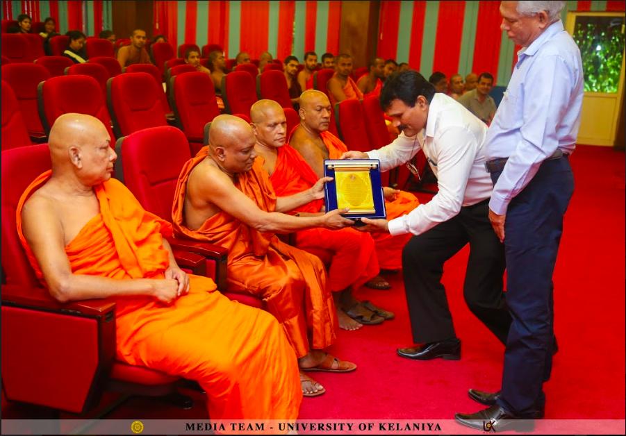 Felicitation Ceremony for Senior Prof. Ven. Kahapola Sugatharathana Thero