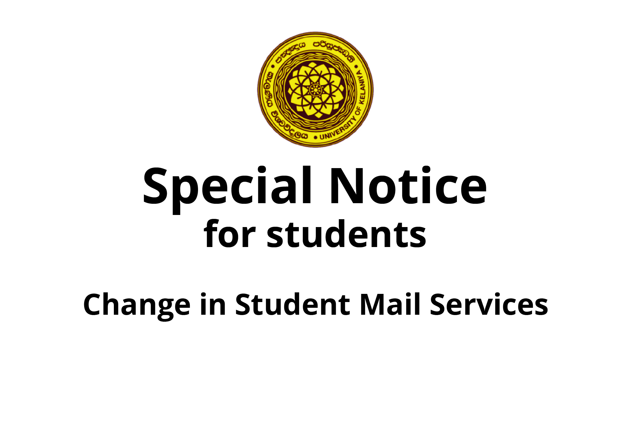 Access your student email account (All student)