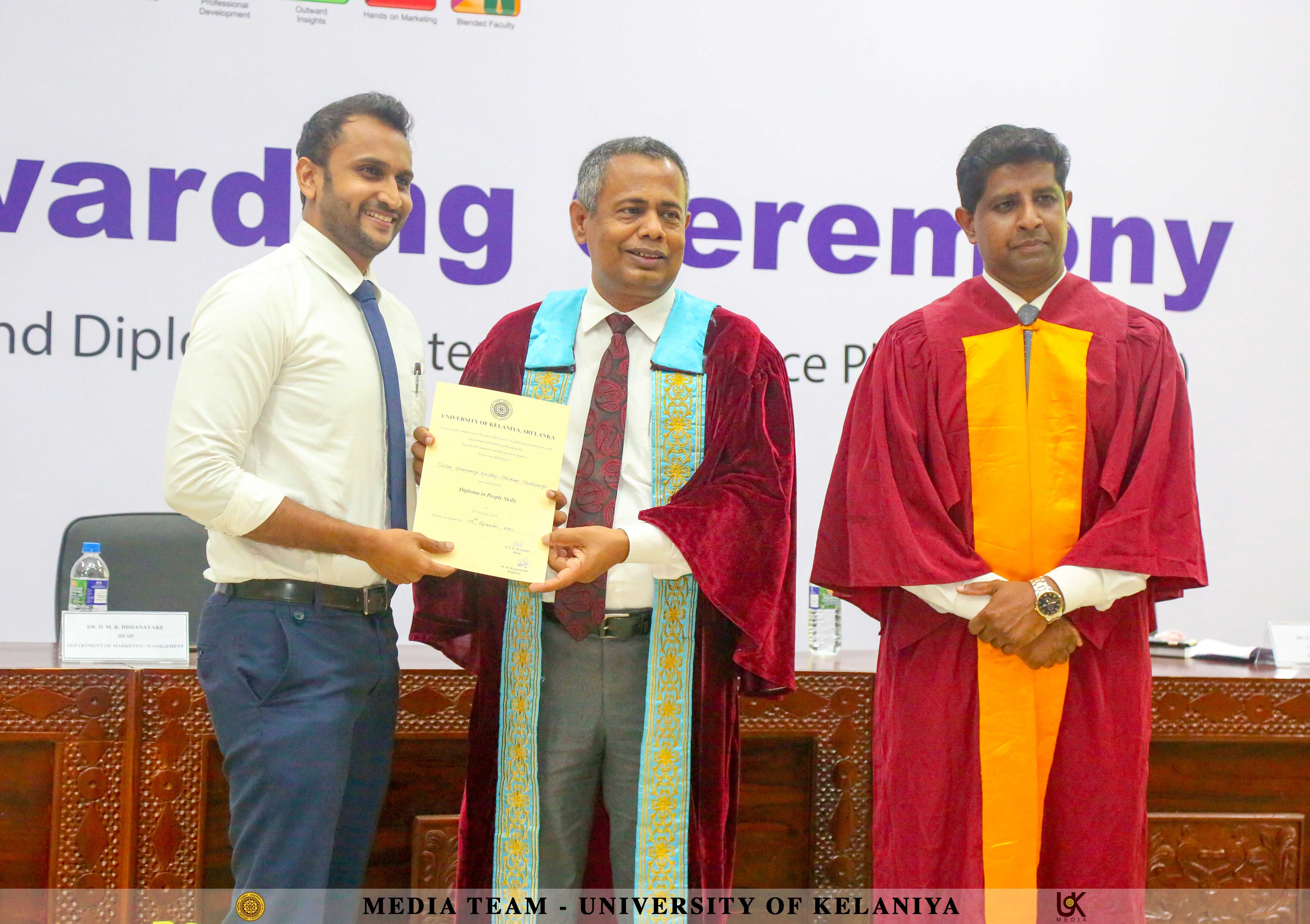 Diploma Awarding Ceremony of Diploma in People Skills and Diploma in Enterprise Resource Planning