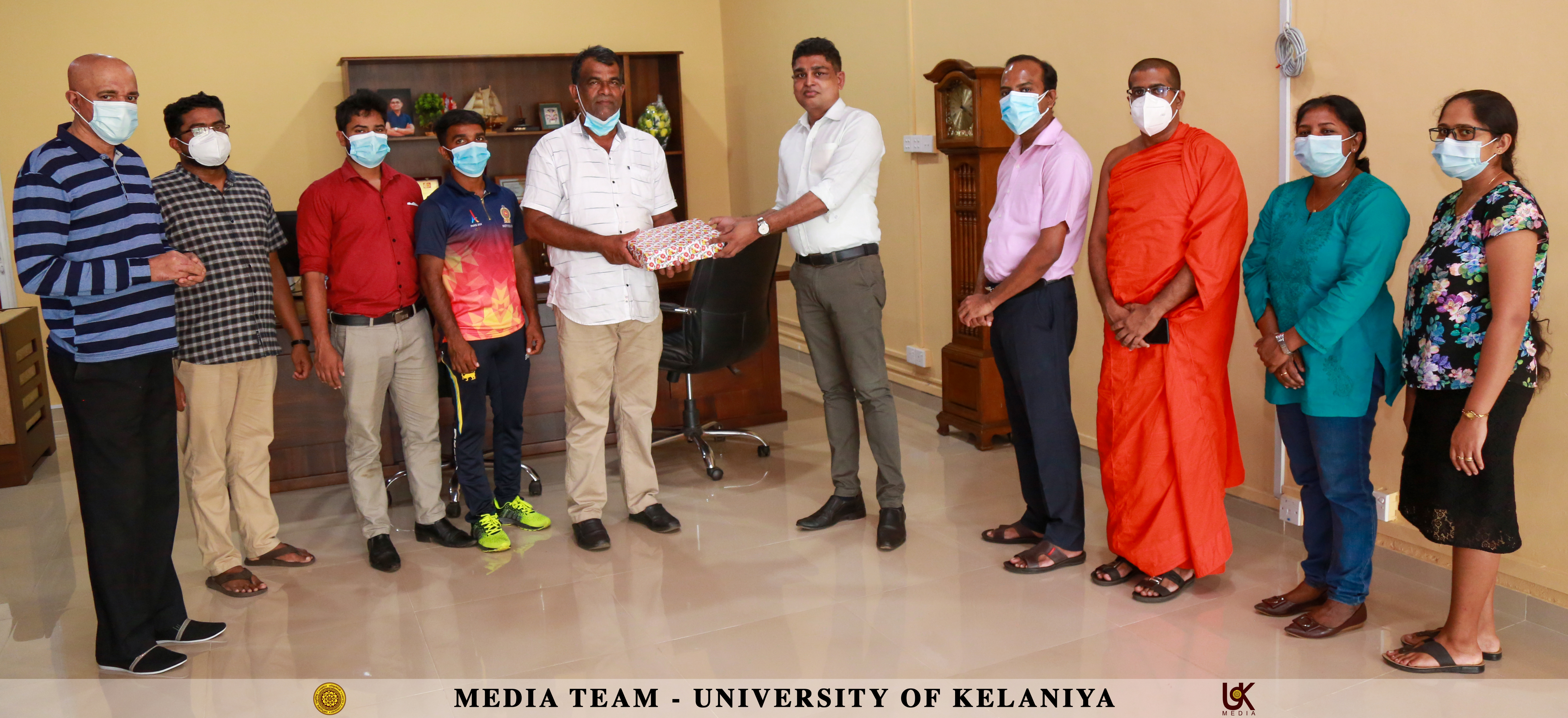 The Library of University of Kelaniya Donates Books to St. Mary's College, Elpitiya