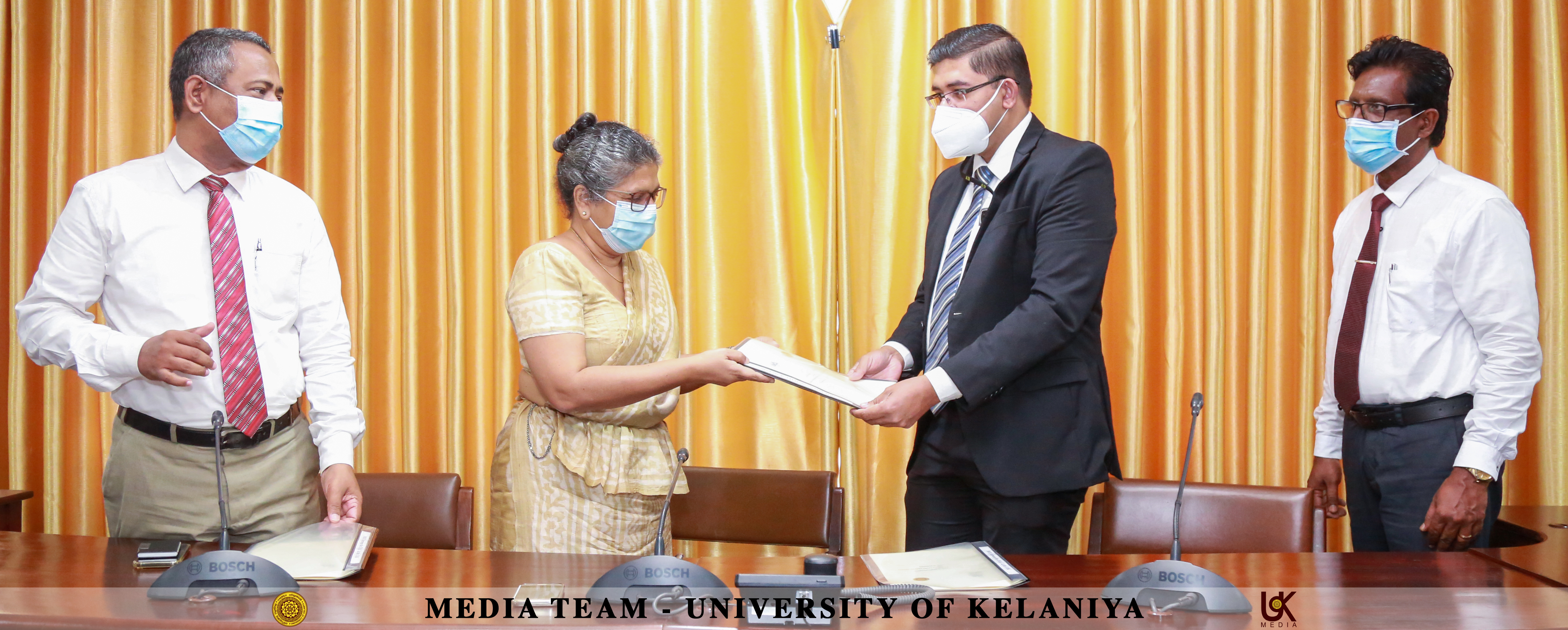 MoU between the University of Kelaniya and the Institute of Internal Auditors Lanka Chapter (IIALC)