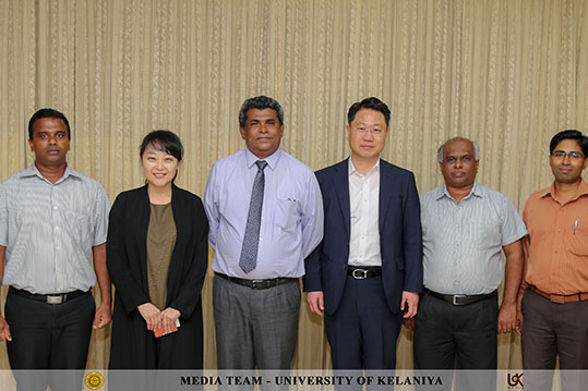 Discussion between the University of Kelaniya and Hallym University, South Korea